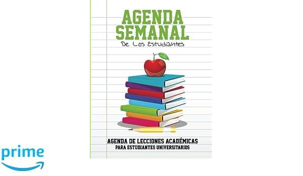 Agenda Semanal de Los Estudiantes Agenda de Lecciones ...