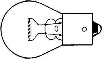 Hella 8ga 006 841 123 Glühlampe Py21w Standard 12v 21w Sockelausführung Bau15s Blisterpack Menge 2 Auto