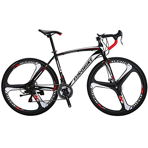 EUROBIKE Road Bike XC550 21 Speed 49 Cm/54 Cm Frame 700C Wheels Road Bicycle Dual Disc Brake Bicycle