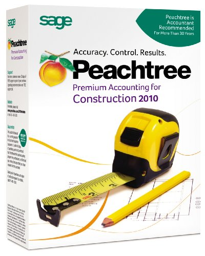 Peachtree Premium Accounting for Construction 2010