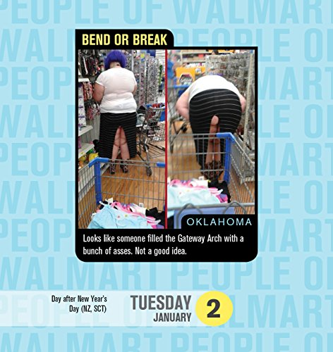 2018 People of Walmart Boxed Calendar: 365 Days of Shop ...