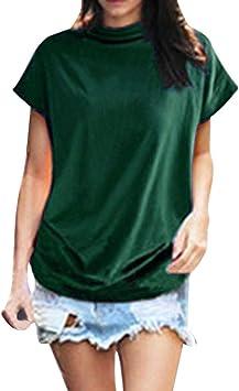 Costura Color de ContrasteTops Lentejuelas Ronamick Moda Mujer Camisetas Sin Mangas Mujer Blusa Negra Mujer Moda Mujer Camisa Flores(Verde,XXL): Amazon.es: Bricolaje y herramientas