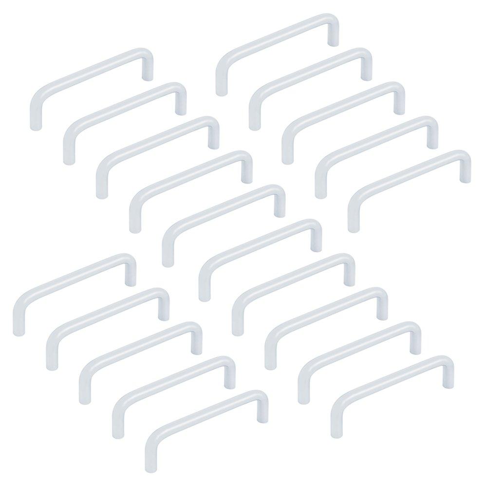 Emuca 9157251 Tirador para mueble di/ámetro /Ø8mm CC 96mm Acero Cromado