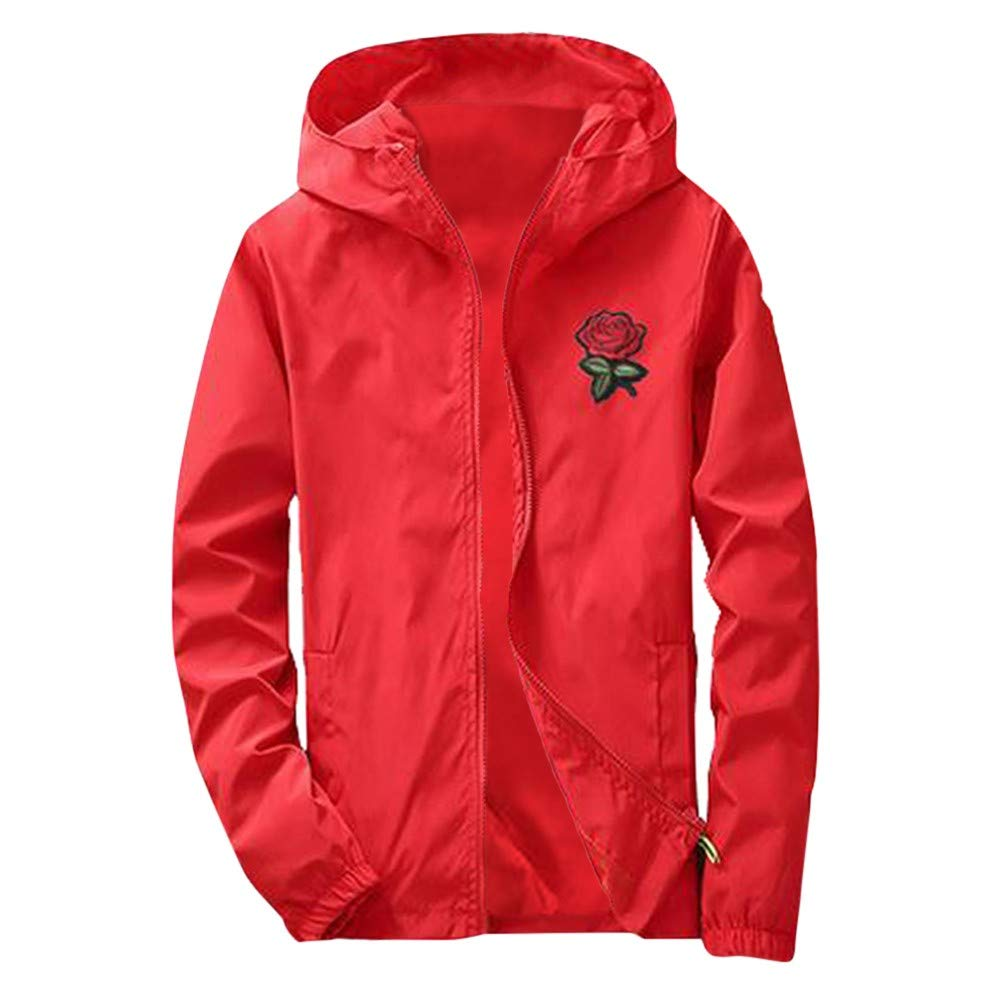 Mens Hoodies Pullover,MensAutumn Printing Sunscreen Hooded Sweatshirt Pullover Tops,Hoodies for Boys