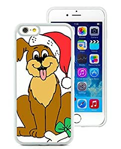 Personalized Design iPhone 6 Case,Christmas Dog White iPhone 6 4.7 Inch TPU Case 7
