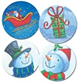 Snowman Cheer Envelope Seals (pack of 25)