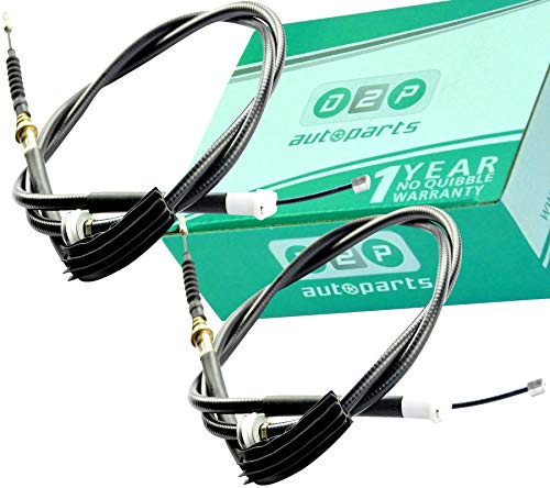 D2P REAR HAND BRAKE CABLES FOR MONDEO MK3, SALOON & HATCHBACK, 1116840X2: