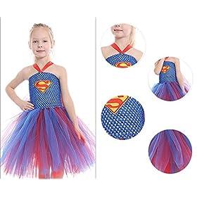 - 51loCJu0AnL - Dream-Store Little Girls Costume Dress Halloween Super Girls Cosplay Dress Costumes for Toddler and Girls