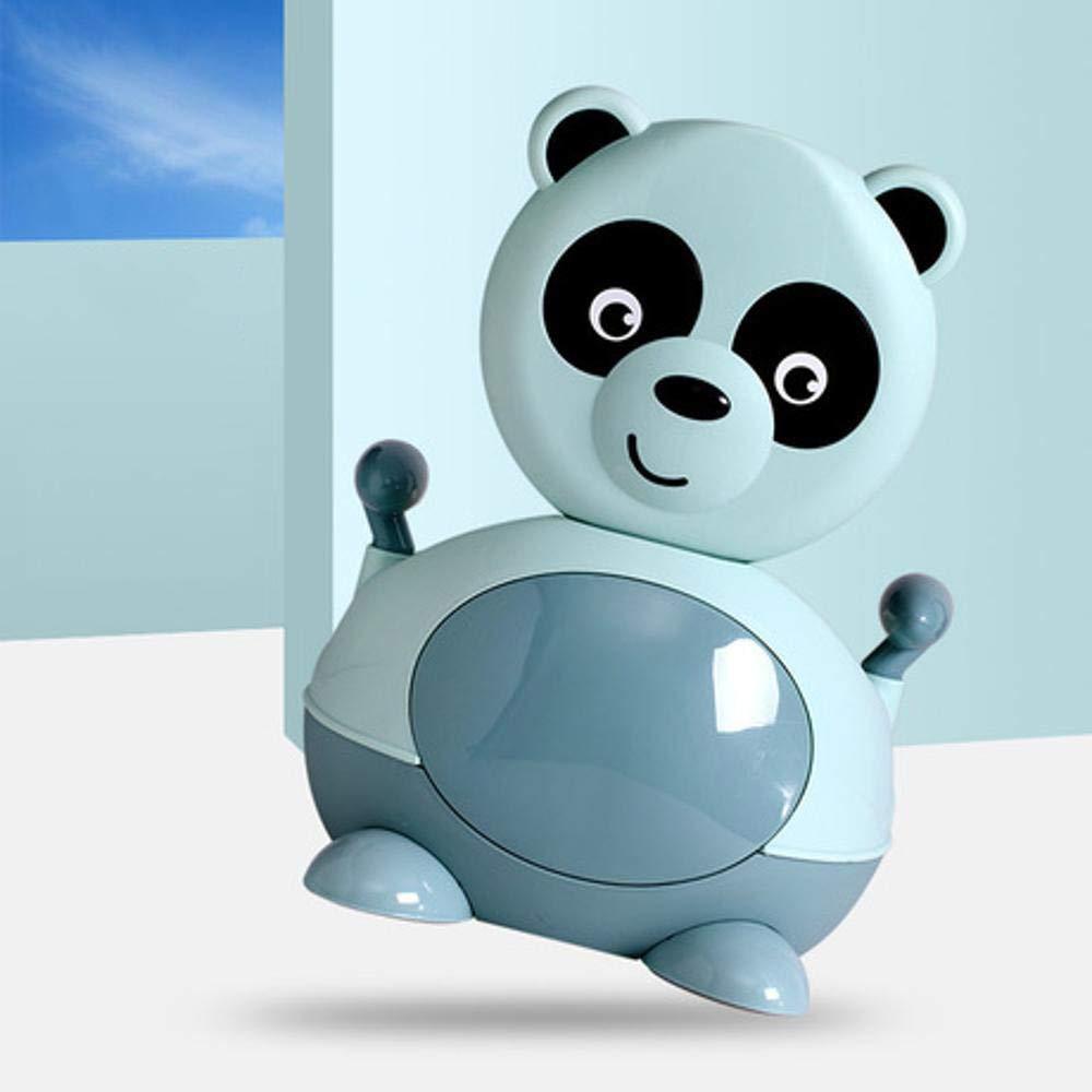 LiyuAI Panda g/éant Chaise Pot pour Enfant avec Brosse de Nettoyage Dessin anim/é Les Tout-Petits avec Soft Pad Amovible pour gar/çons Filles de Toilette pour b/éb/é