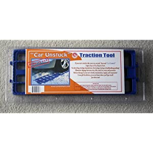 Car Unstuck Traction Mats - 2 Plates Per Set