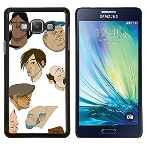 Dragon Case - FOR Samsung Galaxy A7 - cartoon designed artist cgi painting - Caja protectora de pl??stico duro de la cubierta Dise?¡Ào Slim Fit