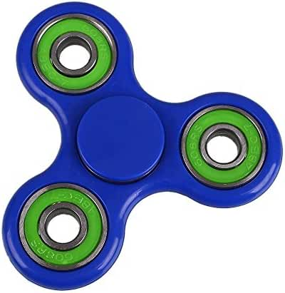 Fidget Works Tri Hand Spinner Ultra Fast Bearings Finger Toy, Great Gift