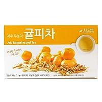 Omni Herb Jeju (pesticide-free) Tangerine (Orange/Citrus) peel 80 Tea Bags Korean Herbal