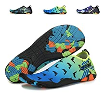 xylxyl Water Shoes Men and Women Multifunctional Lightweight Breathable Quick Dry Beach Swimming Barefoot Aqua Skin Socks