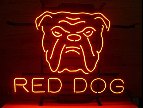 Buy neon signs red dog