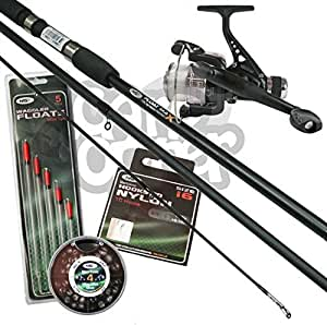 Complete beginners float match fishing outfit set up rod for Fishing pole setup beginners