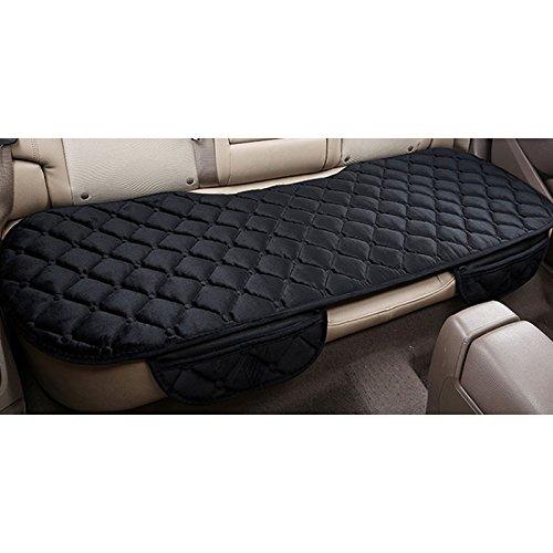 Sedeta Silk Velvet Auto Car Vehicle Long Rear Seat Chair Cover Protective Cushion Mat pad for baby, SUV, skin-friendly c by Sedeta