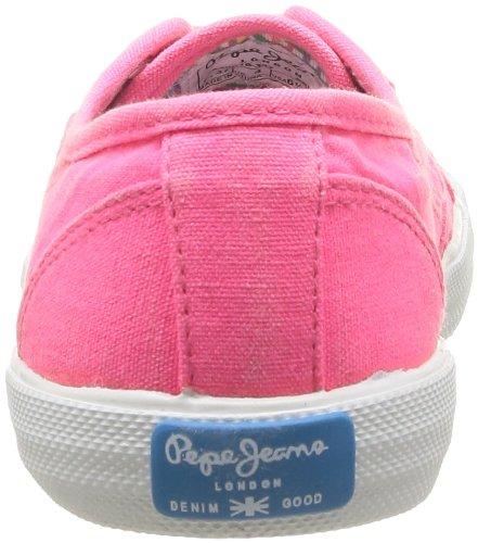 de 347 Mujer Aberlady Rosa Deporte Jeans de Rose Zapatillas Pepe Tela UzXxqwf6Fz