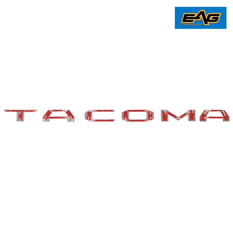 Black EAG 16-18 Toyota Tacoma Tailgate Insert Letters