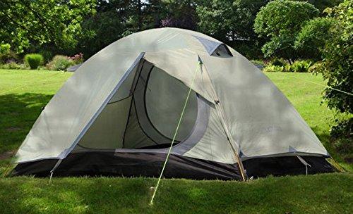 テント アウトドア 2人  カップルにおすすめ 簡易 自動 ワンタッチ  簡単組立て 防水 キャンプ ハイキング グレー   B016Q29HO0