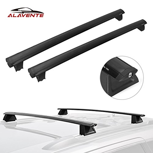 ALAVENTE Roof Rack Cross Bars For Jeep Grand Cherokee 2017 2016 2015 2014 2013 2012 2011 (fits LIMITED / OVERLAND only)