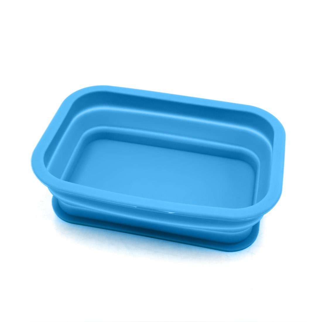 sourcing map Bleu Rectangle Silicone Tableau Bord Auto Non-Slip Phone Support Bo/îte