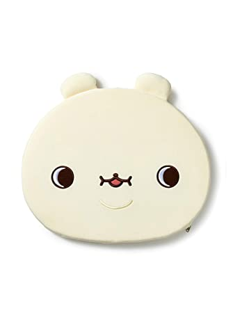 TWOTUCKGOM Collaboration with Monsta X Face Seat Cusion - HONEYGOM - TTG  Bear Character Seat Cushion for Office Chair Car Memory Foam Sitting Desk