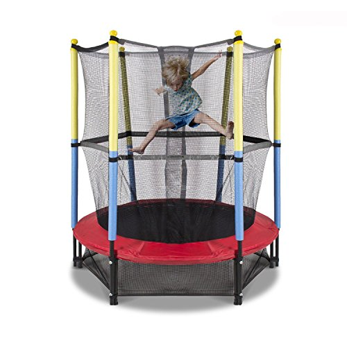Fun Family Kids Outdoor Exercise Springy Trampoline 55