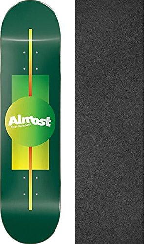 Almost Skateboards Gradient Forest Green Skateboard Deck - 7.5