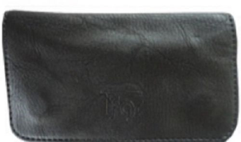 Tobacco Case Pouch Synthetic Leather Smoke For Rolling Cigars Black No Design