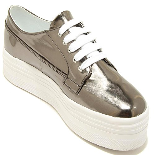 Sneaker Campbell Jeffrey Scarpa Pu Donna Scarpe Zeppa 7862f Argento Louise Donna qPFwxftFdr