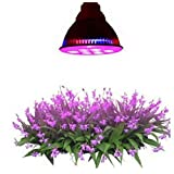 Lightess LED Grow Light Bulb Plant Growing Lights for Hydroponic Garden Greenhouse, E27 12W