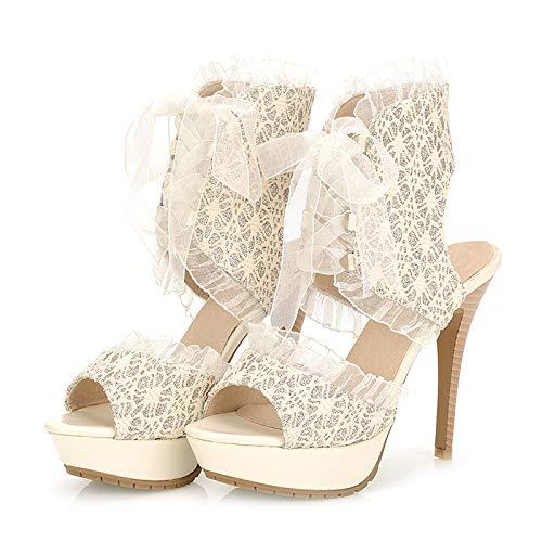 HOESCZS Vendita Vendita Vendita Calda di Grandi Dimensioni delle Scarpe di Disegno di Marca di Estate 34-43 di Grandi Dimensioni di Vendita Calda Donne Pattini Sottili dei Sandali della Piattaforma dei Talloni 9f99b4
