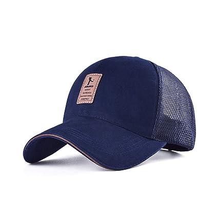 e9c9cb31 LDDENDP Baseball Cap Solid Color Cap Adjustable Size Adult Polo Classic  Sports Leisure Dome Sun Hat