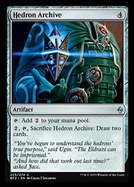Magic  The Gathering   Hedron Archive  223 274    Battle For Zendikar
