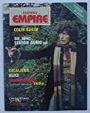 "Tom Baker Cover ""Fantasy Empire"" Doctor Who Magazine #19 From 1985"