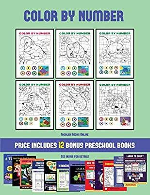 Toddler Books Online (Color by Number): 20 printable color ...