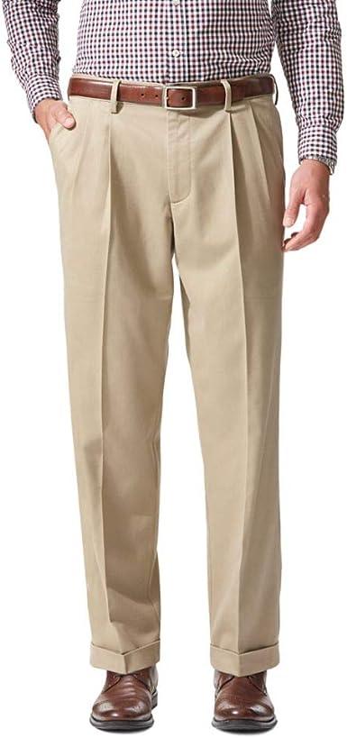 Amazon Com Dockers Pantalon Elastizado De Calce Relajado Para Hombre Clothing