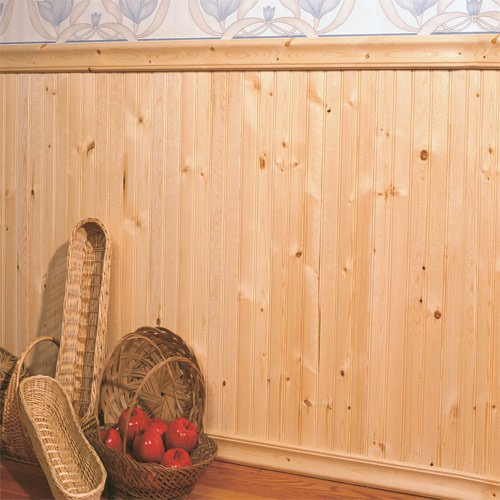 allwood-beaded-knotty-pine-wainscot-kit-16-lineal-feet-of-wall-length