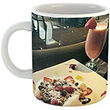 Westlake Art - Breakfast Food - 11oz Coffee Cup Mug - Modern Picture Photography Artwork Home Office Birthday Gift - 11 Ounce (BA3A-B0892)