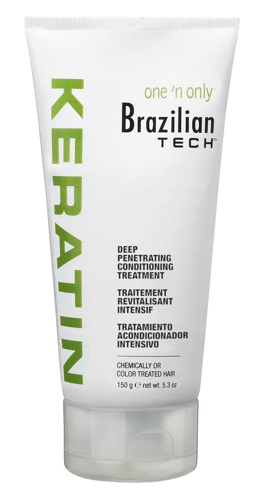One N Only Brazilian Tech Keratin Deep Cond. Treat 5.3oz (2 Pack) One N' Only