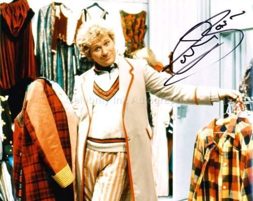 COLIN BAKER as The 6th Doctor - Doctor Who Genuine Autograph from Celebrity Ink