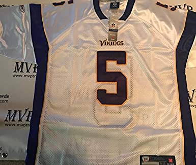Nice Donovan McNabb White Minnesota Vikings Men Size XX Large (54) Jersey  for cheap