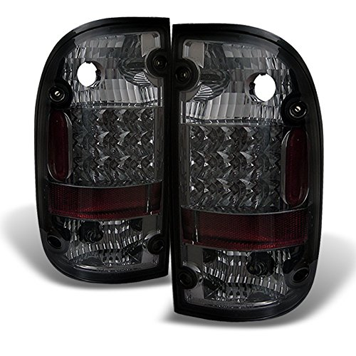 For Toyota Tacoma Pickup Truck Rear LED Tail Lights Signal Brake Lamps Pair Smoked Completed Set