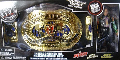 WWE Wrestling Exclusive Intercontinental Championship Belt with Jeff Hardy Action Figure by Jeff Hardy [parallel import goods] by Jeff Hardy