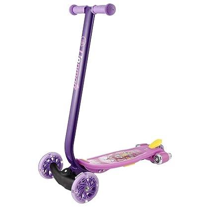 Niños Patinetes 3 ruedas Kick Scooter con Luz LED Ruedas ...