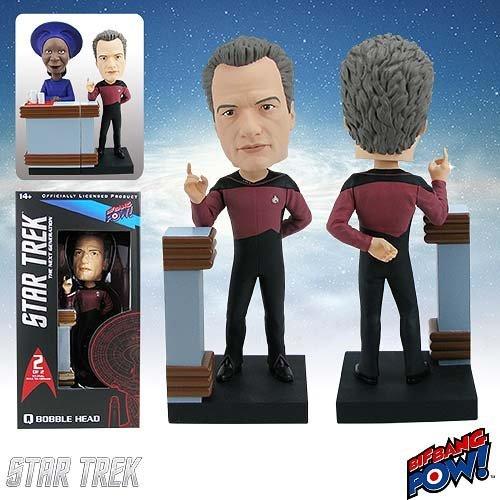 Star Trek: TNG Q - Build a 10 Forward Q Bobble Head