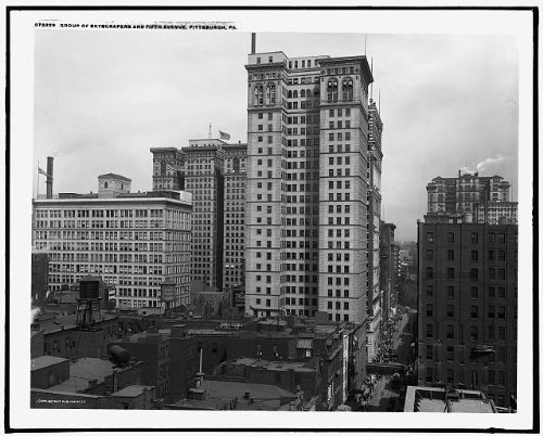 Photo: Group,skyscrapers,commercial facility,Fifth - 5th Stores Avenue Map