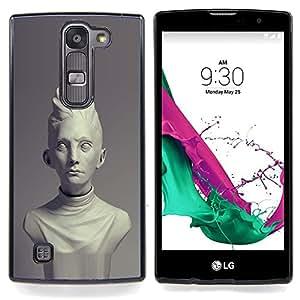 "For LG G4c Curve H522Y ( G4 MINI , NOT FOR LG G4 ) Case , Roma Antigua Época Clásica busto de mármol"" - Diseño Patrón Teléfono Caso Cubierta Case Bumper Duro Protección Case Cover Funda"