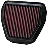 yz450f air filter - K&N YA-4510 Yamaha High Performance Replacement Air Filter